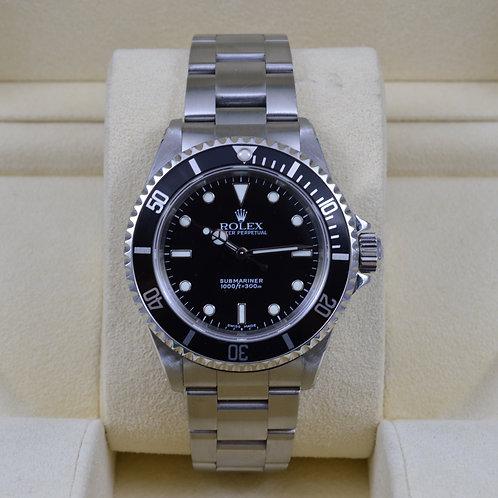 Rolex Submariner No Date 14060M 2 Liner - Y Serial