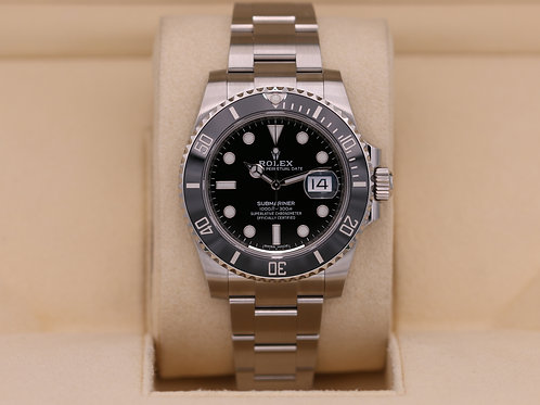 Rolex Submariner Date 116610LN Black Dial - 2019 Unworn!
