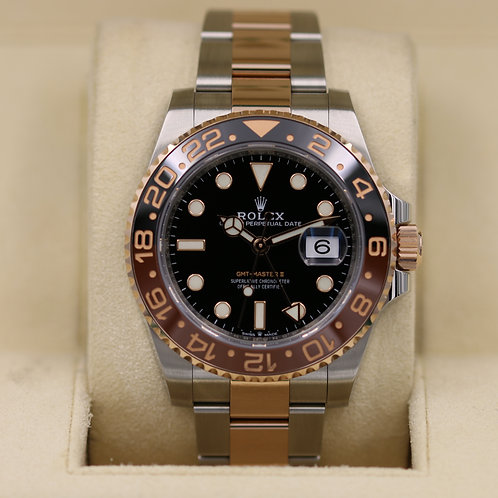 Rolex GMT Master II 126711 Rootbeer Two-Tone - 2018 Box & Papers