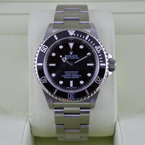 Rolex Submariner No Date 14060M 4 Liner - M Serial