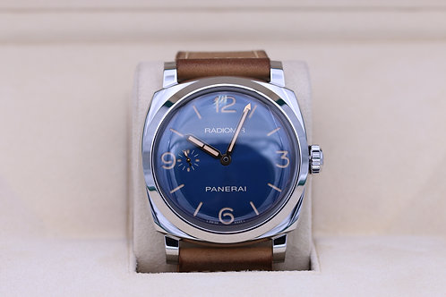 Panerai Radiomir 1940 PAM 690 3 Days Blue Dial - Box & Papers