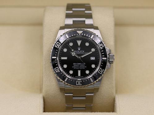 Rolex Sea-Dweller 116600 Ceramic SD4K - 2017 Box & Papers