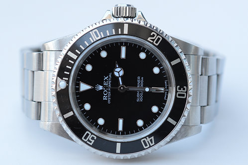 "Rolex Submariner ""No Date"" 14060m"