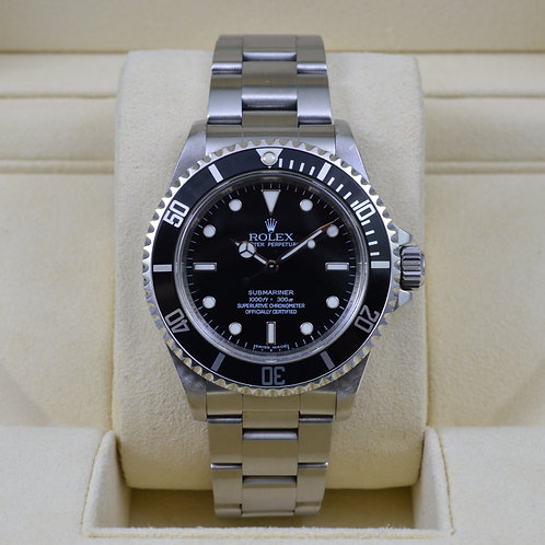 Rolex Submariner No Date 14060M 4 Liner - V Serial