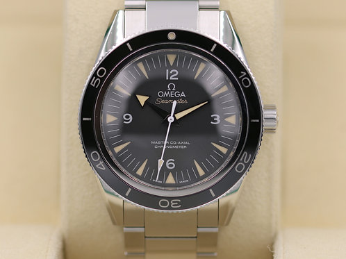 Omega Seamaster 300 Master Co-Axial 8400 Vintage 233.30.41.21.01.001 Box & Paper