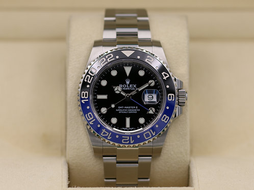 Rolex GMT Master II 116710BLNR Stainless - 2019 Box & Papers