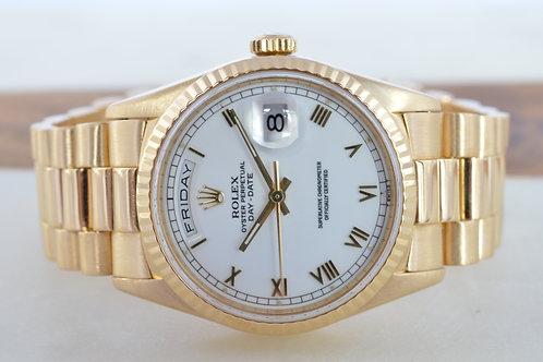 "Rolex Day-Date ""President"" 18238 18K Gold"