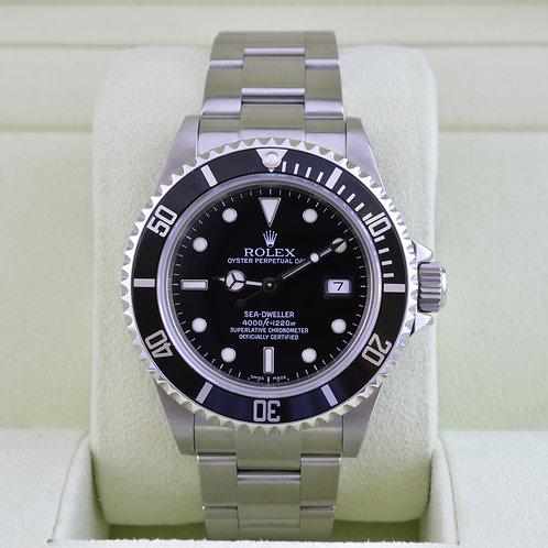 Rolex Sea-Dweller 16600 - M Serial