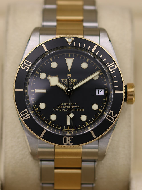 Tudor Black Bay Steel & Gold 79733N S&G - Box & Papers