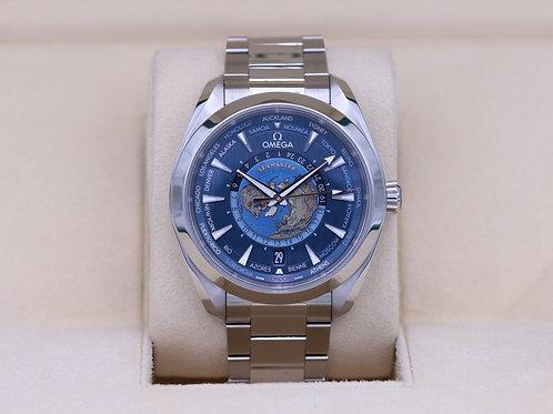 Omega Seamaster Aqua Terra World Timer 220.10.43.22.03.001 - 2020