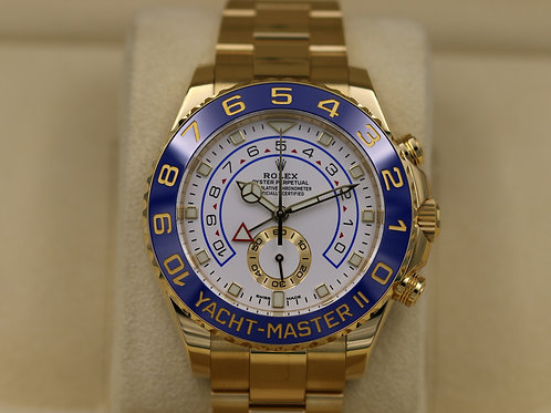 Rolex Yacht Master II 116688 18K Yellow Gold New Hands - 2018 Box & Papers