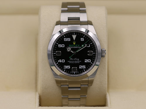 Rolex Air-King 116900 Stainless Steel - 2018 Box & Papers