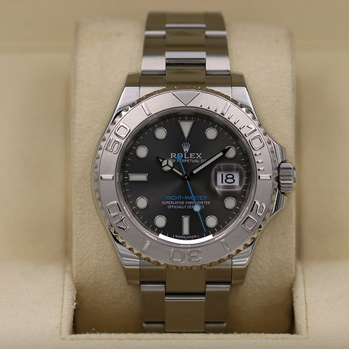 Rolex Yacht-Master 116622 Rhodium Dial Stainless - 2017 Box & Papers