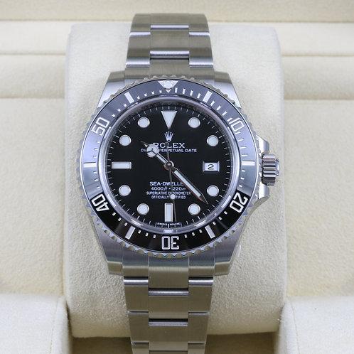 Rolex Sea-Dweller 116600 - NOS - 2015 Box & Papers