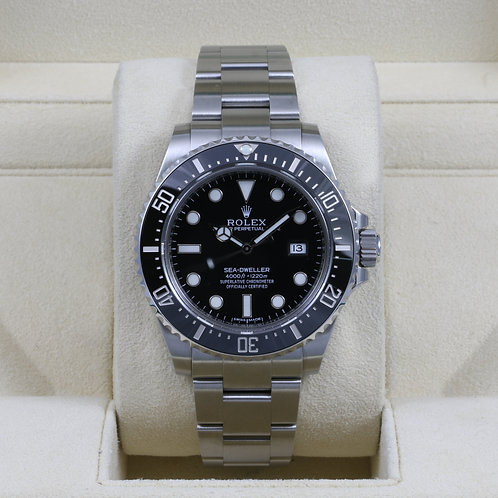 Rolex Sea-Dweller 116600 Discontinued - 2015 Box & Papers
