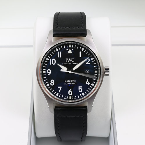 IWC Pilot's Watch Mark XVIII IW327001 Black Dial - 2016 - Box & Papers