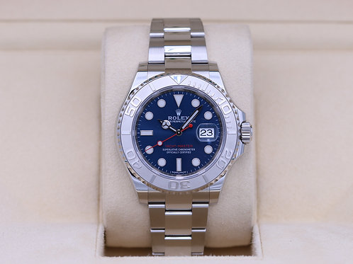 Rolex Yacht-Master 116622 Blue Dial Stainless - 2019 Box & Papers