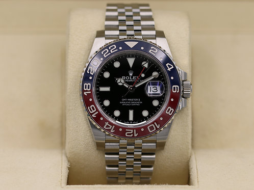 Rolex GMT Master II Pepsi 126710BLRO Stainless - 2018 Box & Papers