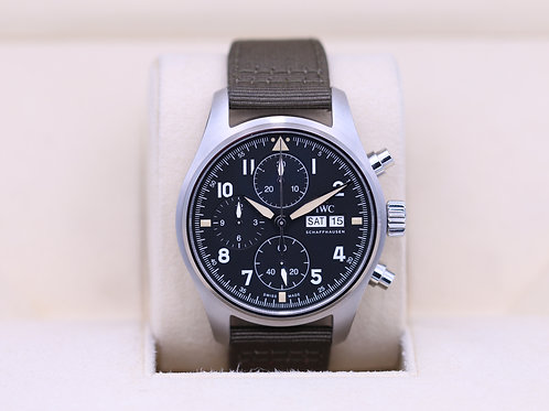 IWC Pilot's Watch Chronograph Spitfire IW387901 - 2019 Box & Papers