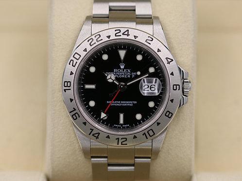 Rolex Explorer II 16570 Black Dial - Y Serial - Box & Papers