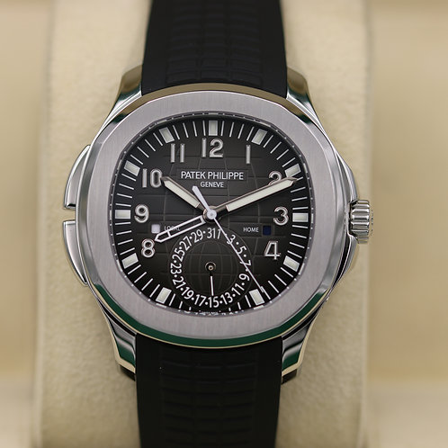 Patek Philippe Aquanaut 5164A Travel Time Stainless Steel - Unworn Box & Papers!