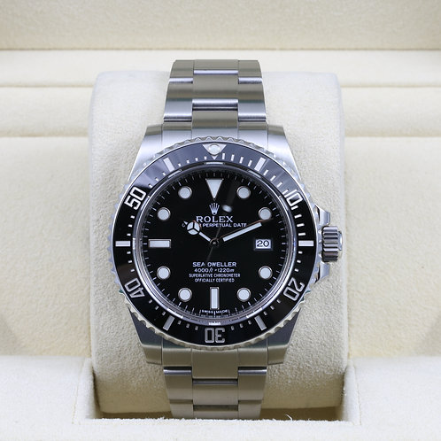 Rolex Sea-Dweller 116600 Ceramic - Discontinued - Box & Papers