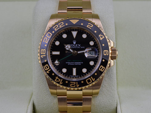 Rolex GMT Master II 116718 - Box & Papers