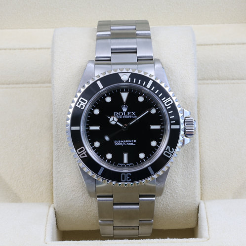 Rolex Submariner No Date 14060M - P Serial - Box & Papers