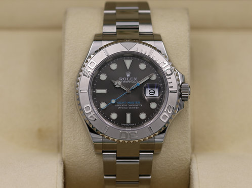 Rolex Yacht-Master 116622 Rhodium Dial Stainless - 2019 Box & Papers