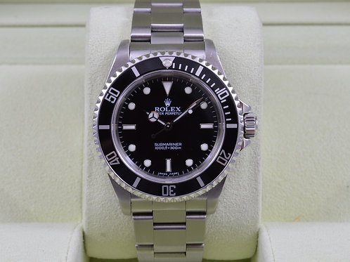 Rolex Submariner 14060M No Date - Z Serial