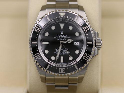 Rolex DeepSea Sea-Dweller 116660 Black Dial - Box & Papers!