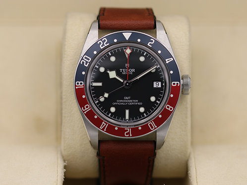 Tudor Black Bay GMT 79830RB Pepsi Leather Strap - 2019 Box & Papers