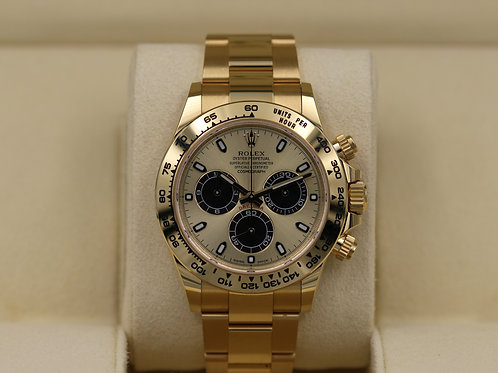 Rolex Daytona 116508 Yellow Gold Gold/Black Dial- 2019 Box & Papers