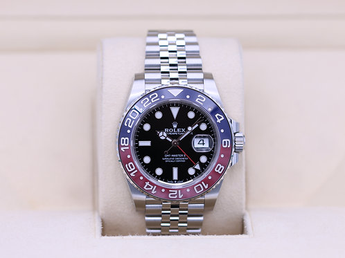 Rolex GMT Master II Pepsi 126710BLRO Stainless - 2020 Box & Papers