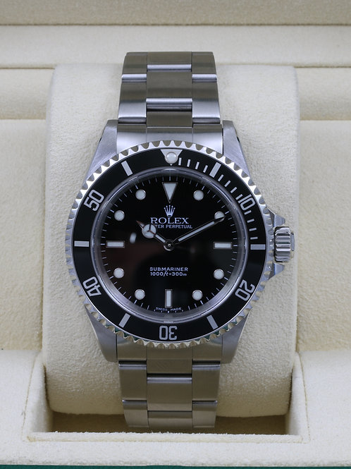 Rolex Submariner No Date 14060M - K Serial Just Serviced