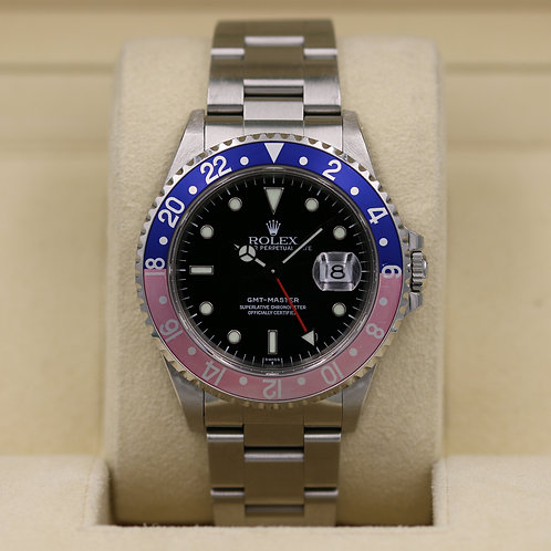 Rolex GMT Master 16700 Pepsi - A Serial