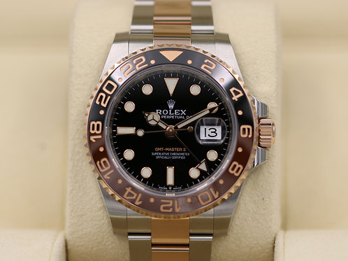 Rolex GMT-Master II 126711CHNR Steel/Rose Gold Root Beer - 2018 Box & Papers