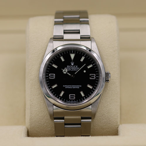 Rolex Explorer I 14270 36mm - P Serial No Holes Case