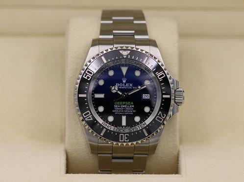 Rolex DeepSea Sea-Dweller 126660 D-Blue - 2018 Box & Papers