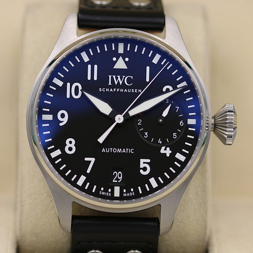 IWC Big Pilot IW501001 Stainless Steel - 2019 Box & Papers