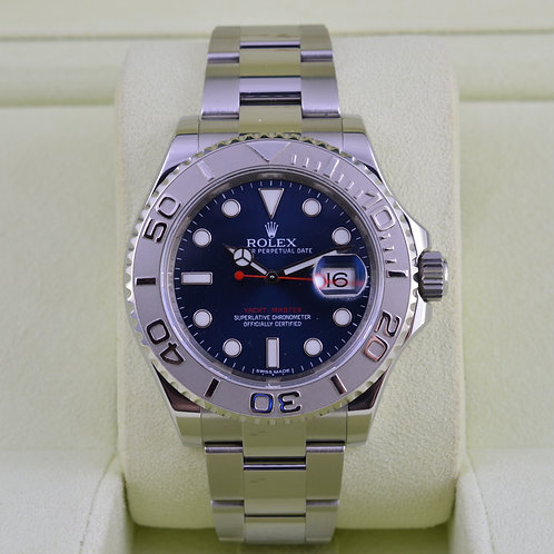 Rolex YachtMaster 116622 Blue Dial