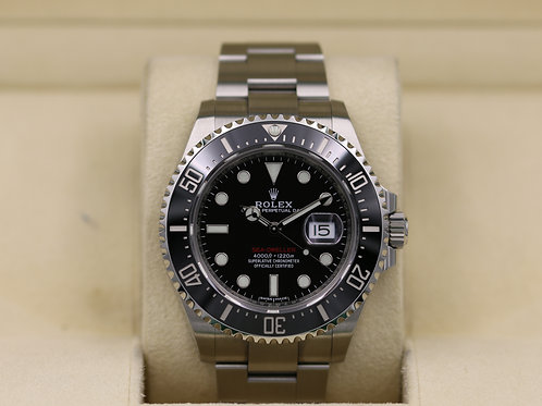 Rolex Sea-Dweller 126600 SD43 Red 50th Anniversary 43mm - 2019 Box & Papers!