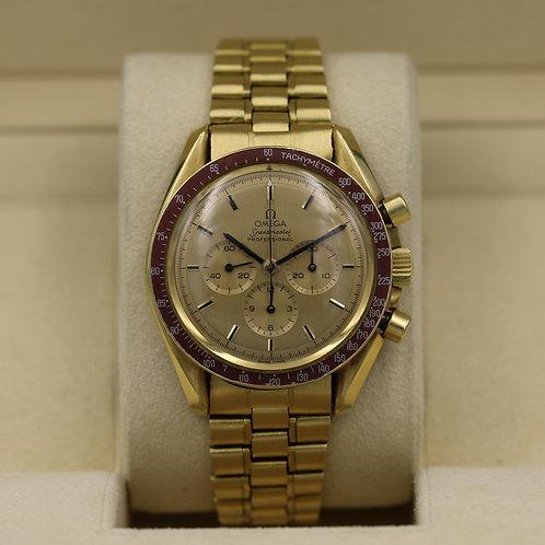 Omega Speedmaster Professional BA 145.022 18K Gold - Limited Ed. Moonwatch 1969