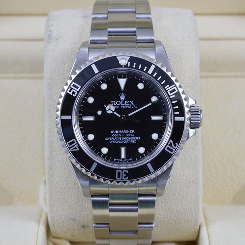 Rolex Submariner No Date 14060M 4 Liner - Z Serial