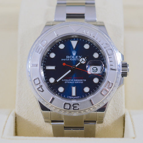 NEW Rolex Yacht-Master 116622 Blue Dial