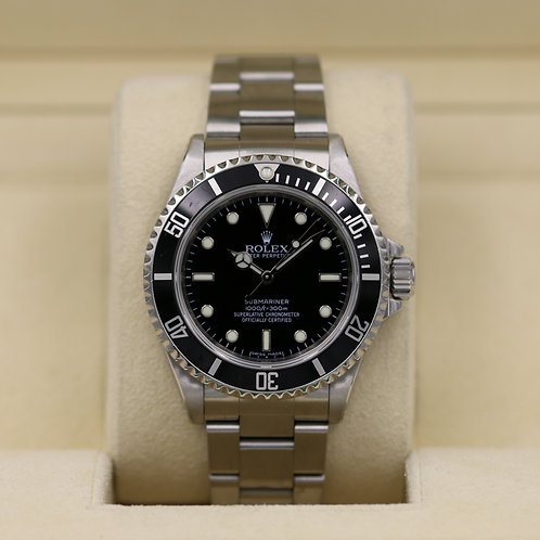 Rolex Submariner No Date 14060M - Z Serial 4 Liner COSC