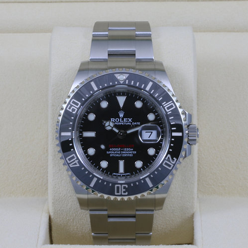 Rolex Sea-Dweller 126600 50th Anniversary Red 43mm - 2017 Box & Papers