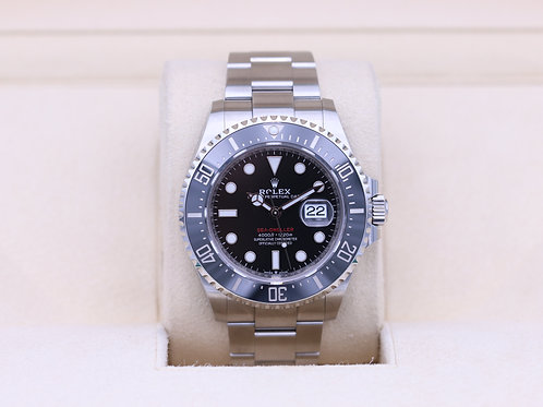 Rolex Sea-Dweller 126600 SD43 Red 50th Anniversary - 2019 Box & Papers