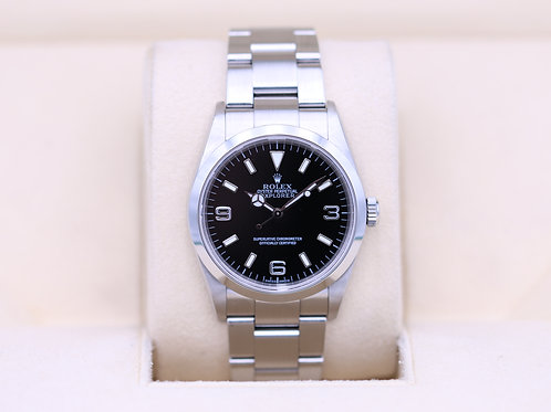Rolex Explorer I 114270 36mm Stainless - F Serial - Box & Papers