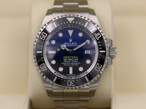 "Rolex DeepSea Sea-Dweller 116660 D-Blue ""James Cameron"" - 2018 Box & Papers!"
